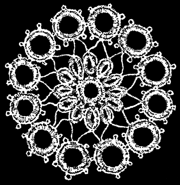 Image of a piece of lace